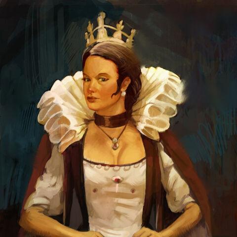 Concept art of Elizabeth I