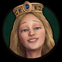 Eleanor of Aquitaine (French) (Civ6)