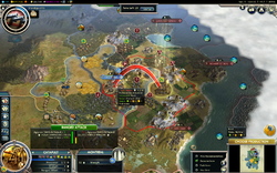 ZeroOne Conquest of the New World game as Inca on turn 71