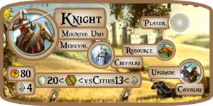 Knight Info Card (Civ5)