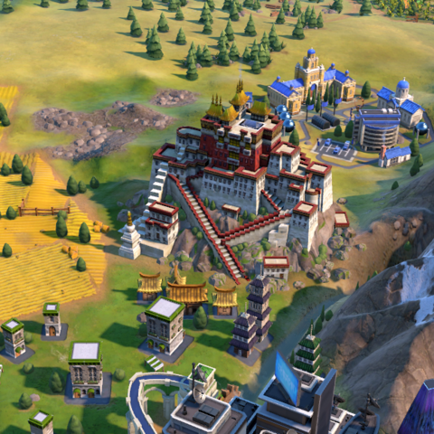 Potala Palace in-game