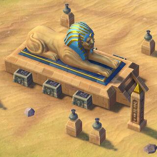 The Sphinx, Egypt's unique improvement