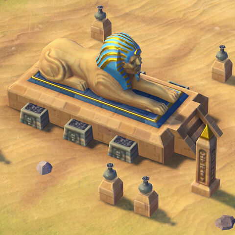 Sphinx in game