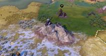 Natural Wonder Torres del Paine closeup (Civ6)