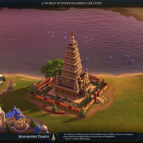 Mahabodhi Temple completed