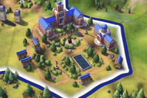 Civilization VI Screenshot Campus Stufe 3 Universität