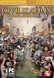 Civ4 Warlords Cover