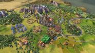 Civilization VI Screenshot Frankreich Industriell
