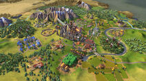 Civilization VI Screenshot Frankreich Industriell