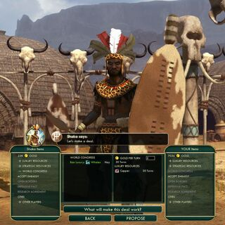 Shaka, leader of Zulu
