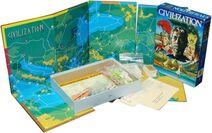 Civilization boardgame set