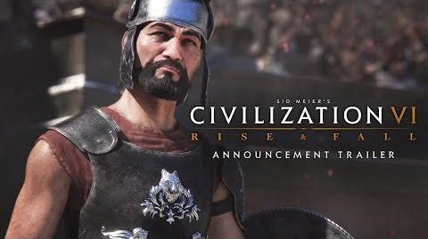 Civilization VI Rise and Fall Expansion Announcement Trailer ES-0