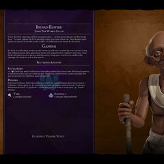Gandhi on the loading screen