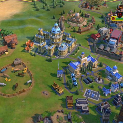 Oxford University in-game
