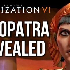 Cleopatra's reveal