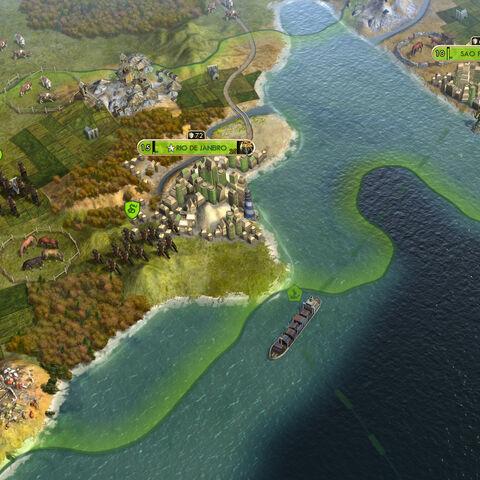 Brazilian Empire in-game