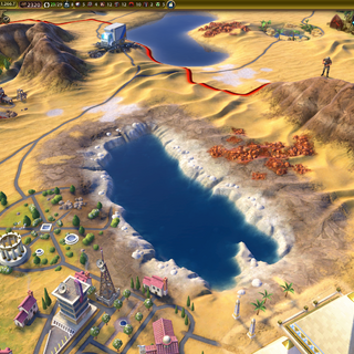 The Dead Sea, as seen in-game