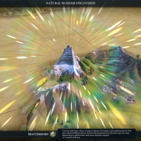The Matterhorn intro cinematic