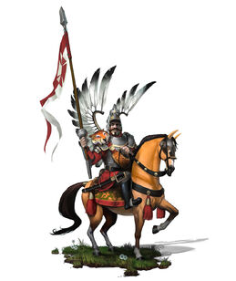 Winged Hussar concept art (Civ6)