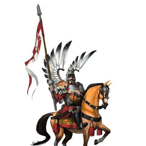 Winged Hussar concept art