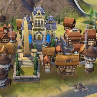 German capital in Medieval Era