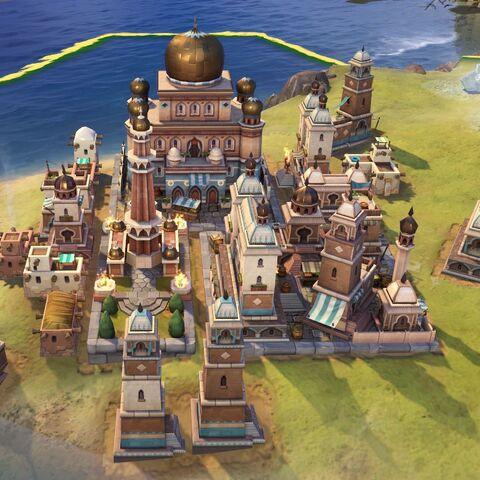 Arabian capital in Medieval Era