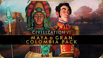 Civilization VI - New Frontier Pass - Pack de los mayas y Gran Colombia