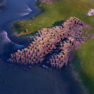 Giant's Causeway, as seen in-game