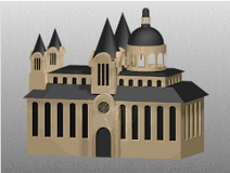 Model J. S. Bach's Cathedral (Civ2)