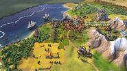 Civilization VI Screenshot Kaiserliche Wache gegen Rotröcke
