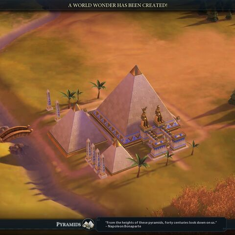 Pyramids completed
