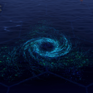 The Bermuda Triangle, as seen in-game