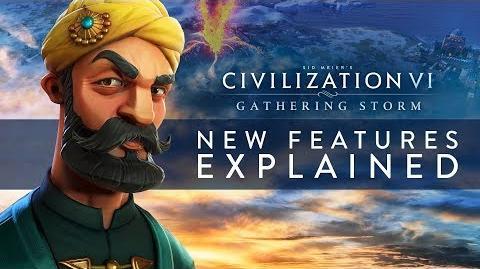 Civilization VI Gathering Storm - New Features Explained (INTL)