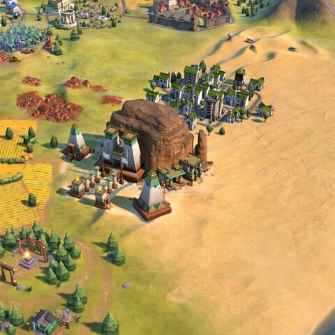 Jebel Barkal, as seen in-game