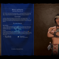 Lautaro on the loading screen (in <i>Gathering Storm</i>)
