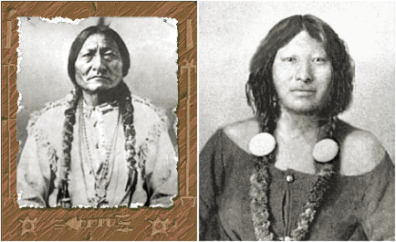 Sitting Bull and Sacajawea (Civ2)