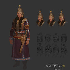 Concept art of Tomyris