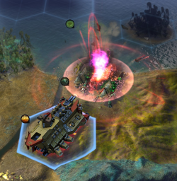 Cardboard Destroyer vs alien part 2 (CivBE)