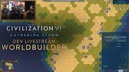 Civilization VI - WorldBuilder Basic Mode (Dev Livestream VOD)