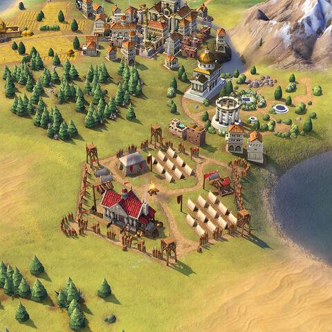 Basilikoi Paides in game