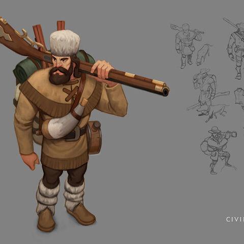 Ranger concept art by Sang Han