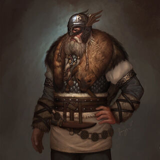 Concept art of Harald Bluetooth by Sang Han