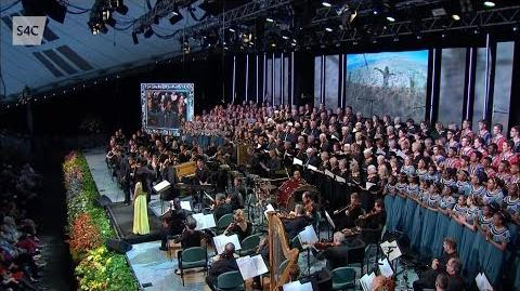 """Christopher Tin Conducts """"Baba Yetu"""" (Live at Llangollen)"""