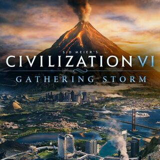 Key Art for <i>Civilization VI: Gathering Storm</i>