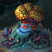 Alien Fungus Marvel (Rising Tide)