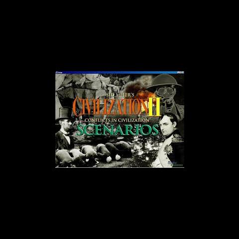 <i>Civilization II: Conflicts in Civilization</i> loading screen