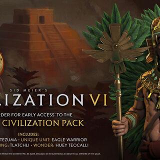 Montezuma's Aztec promotional pack