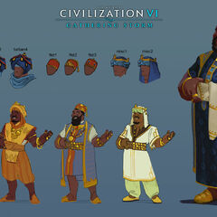 Concept art of Mansa Musa