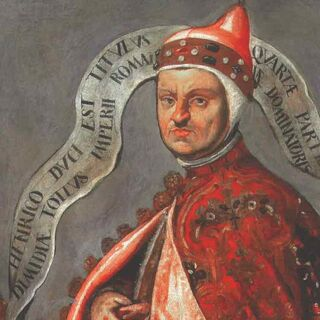 Portrait of Enrico Dandolo, by Domenico Tintoretto