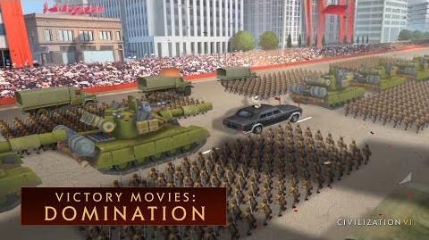 CIVILIZATION VI - Domination Win (Victory Movies)